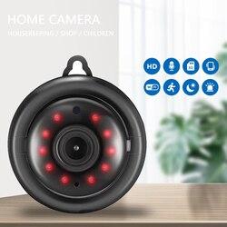 Mini kamera wi-fi 1080P kamera bezprzewodowa kamera IP niania elektroniczna Baby Monitor bezpieczeństwo w domu nadzoru IR Night Vision detekcja ruchu