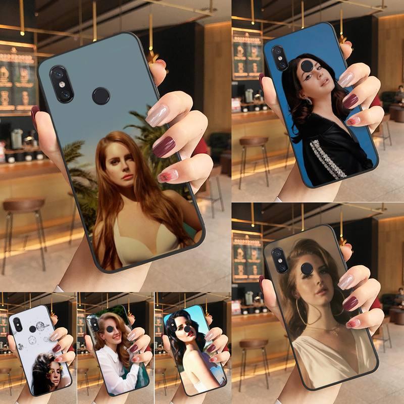 Yinuoda Lana Del Rey Nero Molle di TPU Cassa Del Telefono Cassa Del Telefono Per Redmi K20 Nota 5 7 7a 6 8 nota Pro 8T 9 Xiaomi Mi 8 9 SE