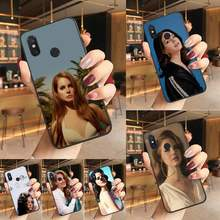 Yinuoda Lana Del Rey negro Funda de teléfono de TPU blanda funda para teléfono para Redmi K20 Nota 5 7 7a 6 8 Pro Nota 8T 9 Xiaomi Mi 8 9 SE