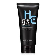 Cleanser Moisturizing Skin-Care Bamboo-Charcoal Men's 1-Hearn 120g Oil-Control