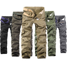 Men Pants Vintage Loose Korean Streetwear Cargo Pants Mens Gothic Fashion 2020 Camouflage Aesthetic Clothing 2020 Punk