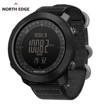 Мужские армейские часы с высотомером барометром и компасом NORTH EDGE
