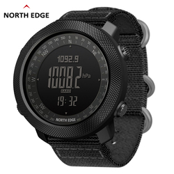 Noord Rand Mannen Sport Digitale Horloge Uur Running Zwemmen Militaire Leger Horloges Hoogtemeter Barometer Kompas Waterdicht 50 M
