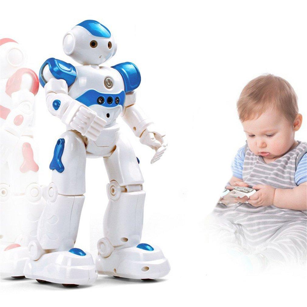 Интеллектуальный робот-головоломка с дистанционным управлением для раннего обучения, детская игрушка для мальчиков, индукционный жест с USB-зарядкой 1