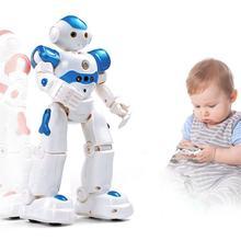Robot contrôlé par télécommande et geste, charge USB par induction, jouet pour garçon précoce, fonctionnement intelligent, éducation des enfants,