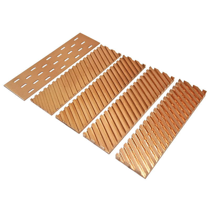 Pure Copper Heatsink Cooler Heat Sink Thermal Conductive Adhesive For M.2 NGFF 2280 PCI-E NVME SSD 67x18x0.5/1.5/2/3/4mm