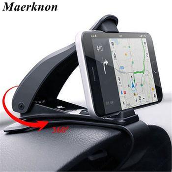 Soporte Universal de teléfono para coche, montaje 360 para teléfono móvil en el salpicadero del coche, GPS, para iphone, Xiaomi, Samsung 1