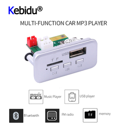 Mini 12V voiture lecteur MP3 Module MP3 Bluetooth Mp3 décodeur panneau autoradio mains libres sans fil FM Module Support TF carte
