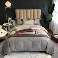 43 Bedding Sets 100% cotton Bed Linen Duvet Cover Bed Sheet/fitted sheet Pillowcase/bed Sets twin queen king size 4pcs