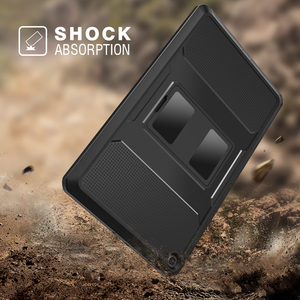 Image 3 - MoKo funda para Samsung Galaxy Tab S5e 2019, [Heavy Duty] a prueba de golpes cuerpo completo Rugged Stand Back Cover Built in Protector de pantalla