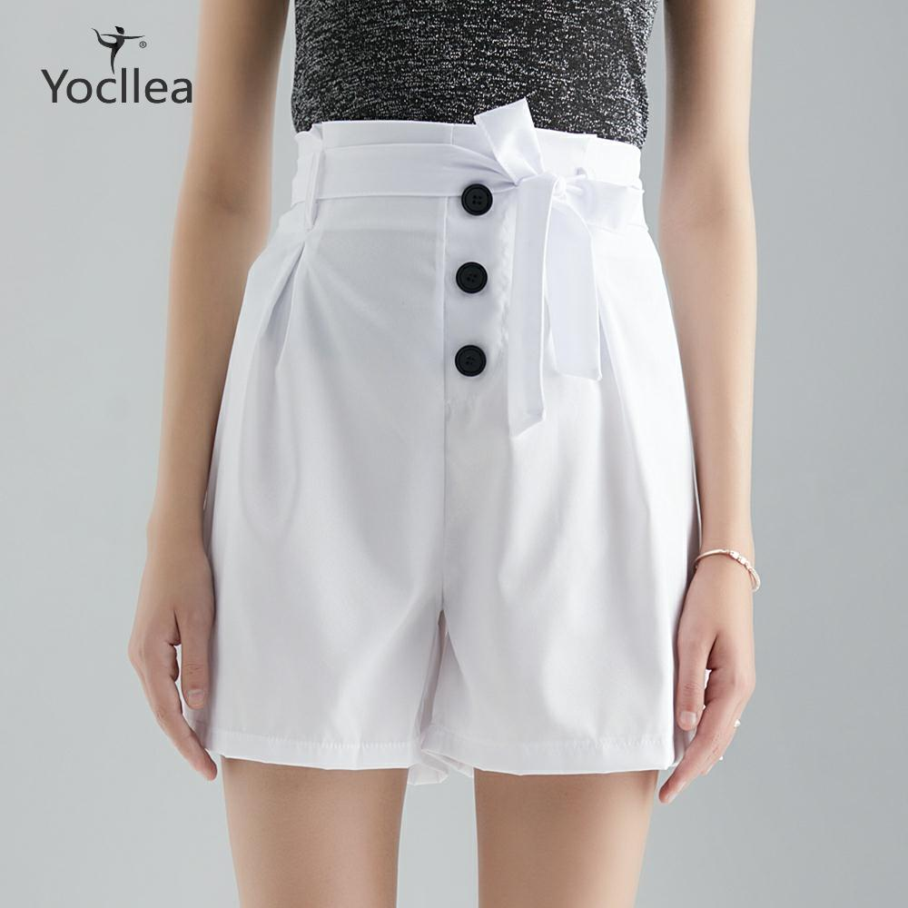 S-5XL Plus Size Beach Shorts New Summer Shorts Slim Fashion Sexy High Waist Sashes Holidy Casual Shorts Women Trousers