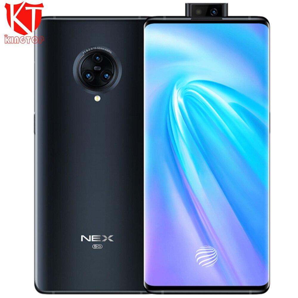 Оригинальный vivo NEX 3 Мобильный телефон 6,89 дюймов 8 ГБ 128/256 ГБ 4G и 5G Snapdraon 855 Plus 64MP задняя камера 16MP фронтальная 4500 мАч мобильные телефоны