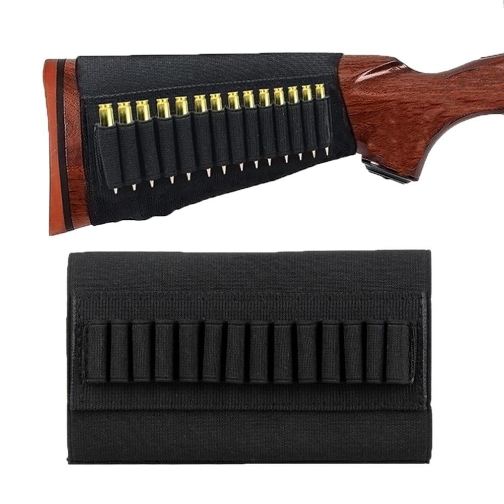 9 Round Shells Gun Cartridges Ammo Bullet Pouch Elastic Rifle Shells Holder