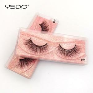 Image 3 - Wholesale Eyelashes 20/30/40/50/100 Pairs Mink Eyelashes Makeup Volume 3D Mink Lashes In Bulk Natural False Eyelashes