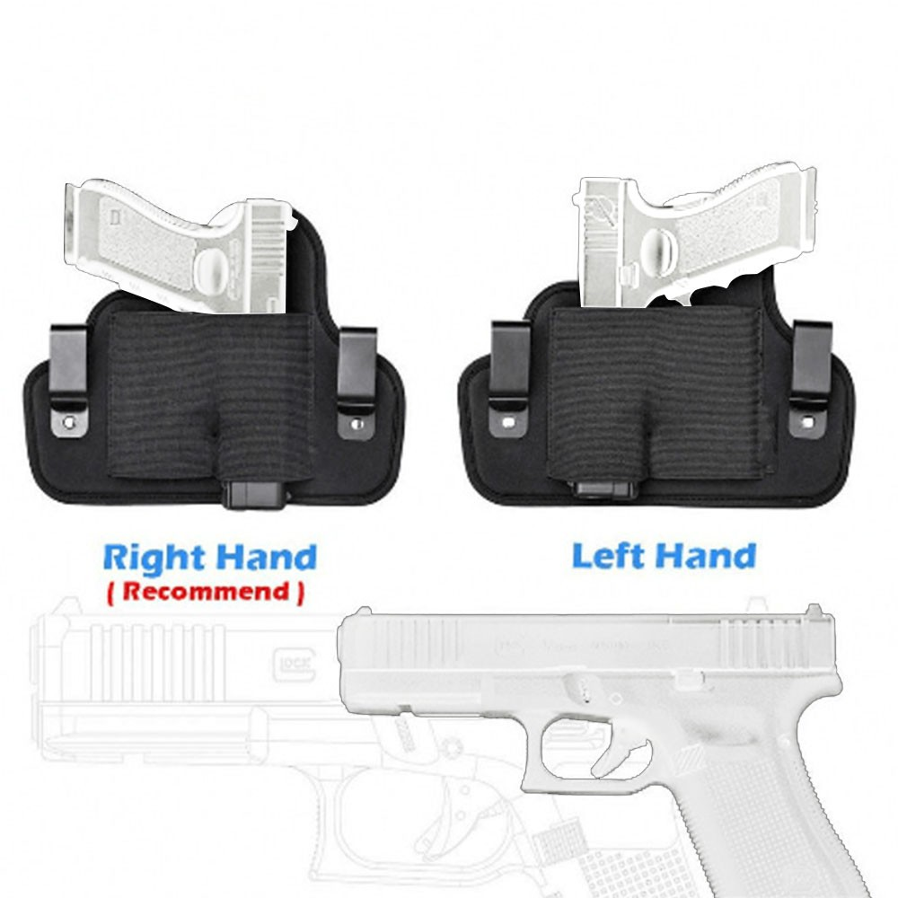 Tactical Gun Holster Revolver Bag Military Case Accessories For Hunting Full Size Handguns Funda Pistola With Belt Metal Cli