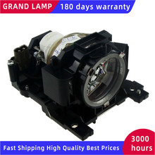 DT00891 Replacement Lamp with housing for HITACHI CP A100 CP A100J CP A101  ED A110 ED A100J Projectors HAPPY BATE