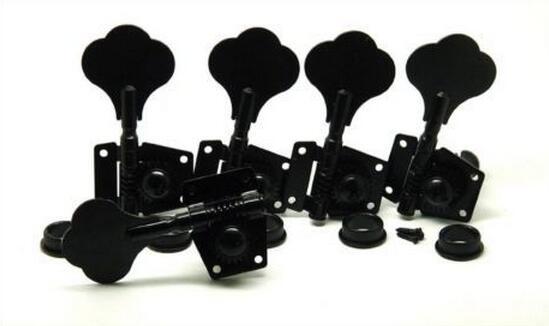 Nouveau 5 pièces nouveau 4r + 1l accordeurs de basse pour 5 cordes guitare basse noir
