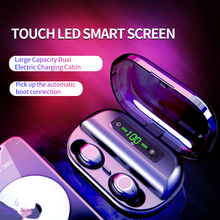Original V12 Bluetooth 5.0 Headset True Wireless Headphones TWS in Ear Earbuds IPX7 Waterproof Earphones HiFi for Sports Running