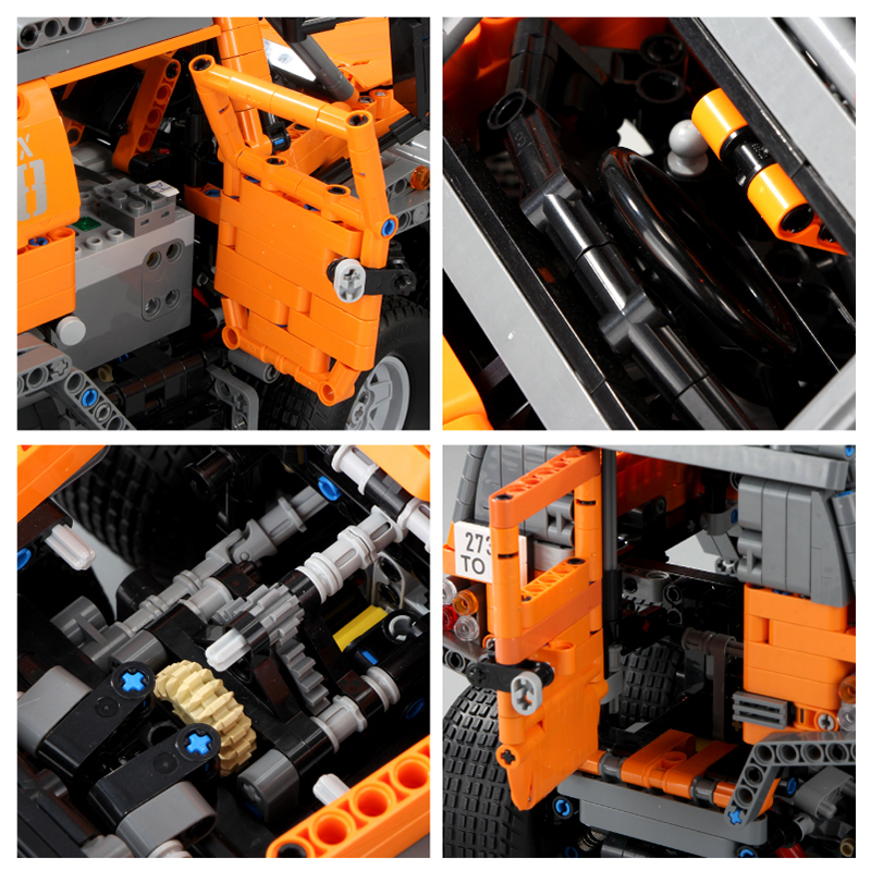 Sibirien Technik Series Off road fahrzeug RC Avtoros Schamanen Auto Set Modell Kit Bausteine Bricks Kompatibel legoed Kinder spielzeug - 2