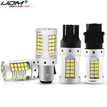 JDM voiture 7440 7443 LED pas Hyper Flash 12V T20 W21/5W 1157 3157 3156 1156 BAU15S ampoule LED pour clignotants rouge jaune blanc