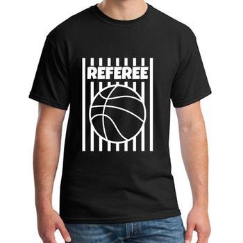 Vintage Referee Basketball Ball Gear Outfit Shirt Tshirt White tshirt s-64xl Famous 9xl Super mens t shirt tee