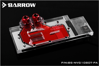 Barrow LRC RGB v1/v2 Full Cover Graphics Card Water Cooling Block for Founder ver.1080Ti/Titan/1070Ti/1060 BS-NVG1080T-PA image