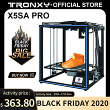 Tronxy X5SA Pro spokojnej jazdy 3D drukarki OSG podwójna oś zewnętrzne szyny prowadzącej pulpit zestawy DIY Titan wytłaczarki drukowania TPU żarnika