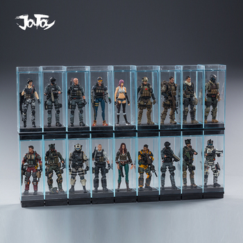 1/18 JOYTOY Action Figure Clear Plastic Display Box Military Model Toys Stock New Box Free Shipping