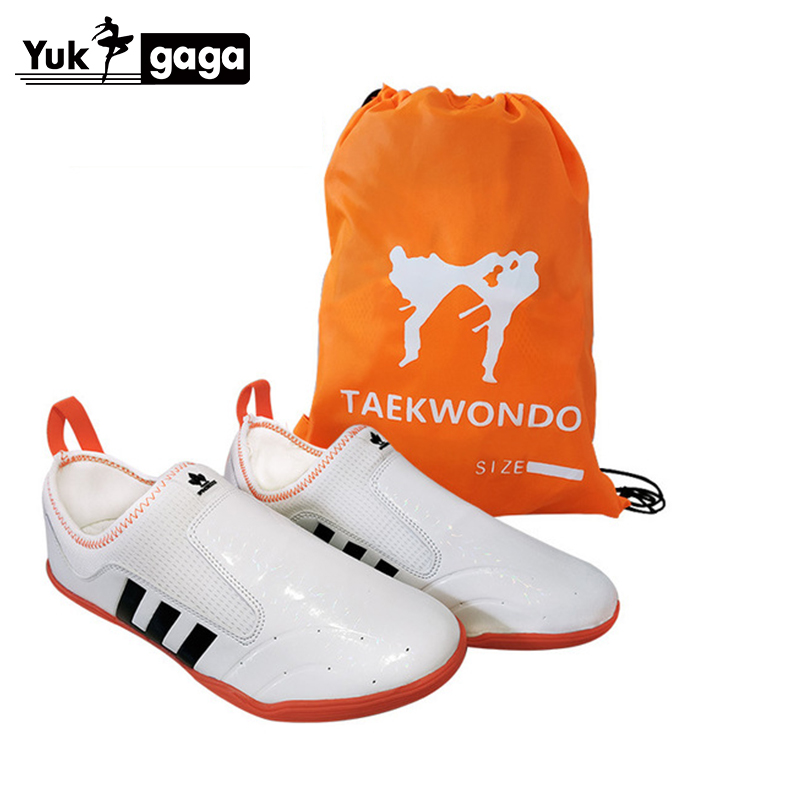 High-grade Taekwondo Shoes For Coach Student Martial Arts Sneaker White Black Comfortable Training Competition TKD Karate Shoes