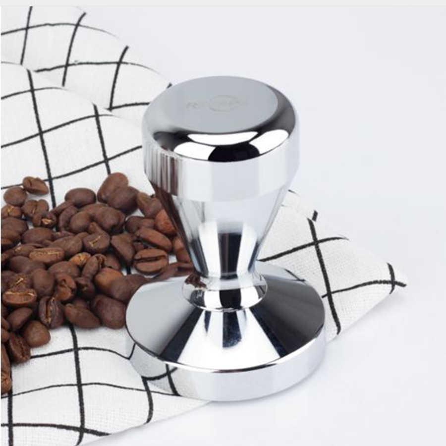 Prensador para Caf/é Base Plana Tamper de Espresso Prensa de Grano de Caf/é Caf/é Tamper 51mm Espresso Caf/é Prensa Herramienta Caf/é DXIA Tamper de Caf/é de Acero Inoxidable Prensador Cafe