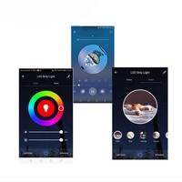 Taśma LED lekka muzyka wodoodporna RGB 5050 SMD elastyczna wstążka fita led listwa oświetleniowa RGB 5M 10M taśma diodowa DC pilot w Taśmy i listwy LED od Lampy i oświetlenie na