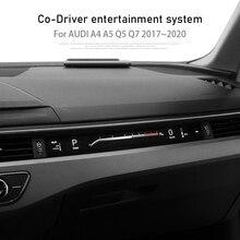 Dla Audi A4 A5 Q7 2017 ~ 2020 system informacyjny Copilot sterownik Co odtwarzacz multimedialny wirtualny kokpit po stronie pasażera