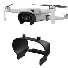 Güneşlik için Lens Hood DJI Mavic Mini Drone Lens kapağı koruyucu Gimbal kamera Guard parlama önleyici kalkan DJI mavic aksesuarları
