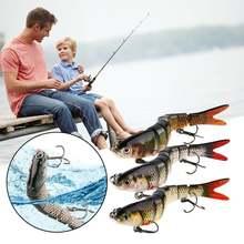 137 см 27 г тонущие воблеры 8 сегментов рыболовные приманки
