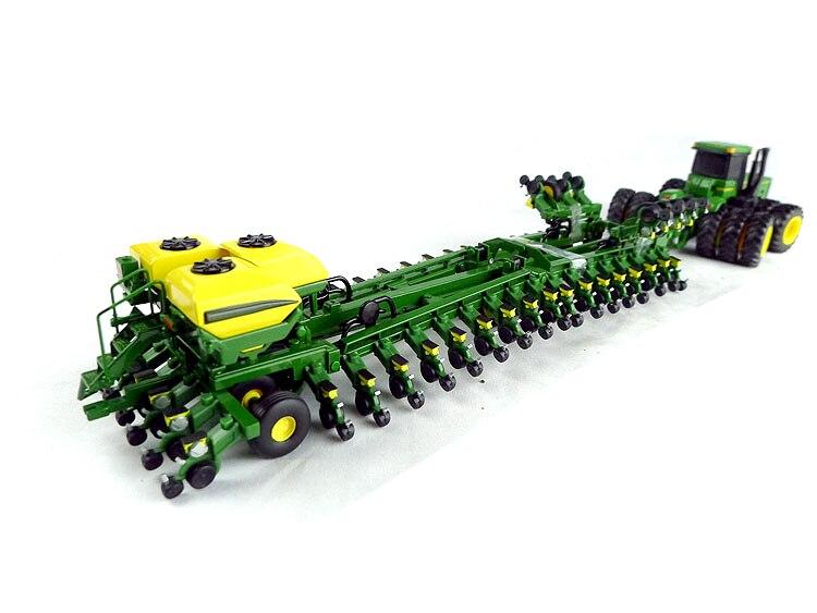 عرض خاص 1: 64 JD271 DB120 48 صف الغراس جرار الاكسسوارات مركبة الزراعية سبيكة نموذج جمع-في سيارات لعبة ومجسمات معدنية من الألعاب والهوايات على  مجموعة 1