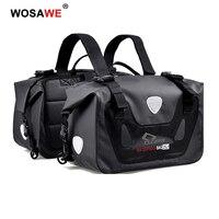 CUCYMA 50L Motorcycle Saddle Bag Travel Luggage Multi Function Tank Bag Motorbike Saddlebags Waterproof Extended Large Capacity
