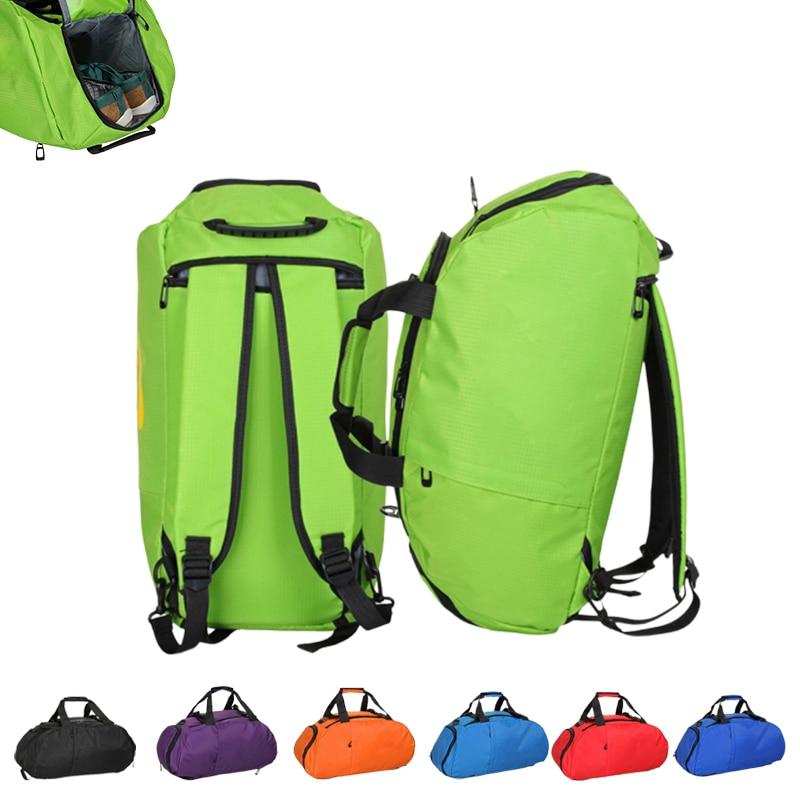 Waterproof Fitness Sports Bag Men Women Outdoor Fitness Bag Portable Gym Handbag Ultralight Yoga Bag Outdoor Gym Sports Backpack