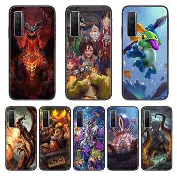 Hearthstone High definition Phone Case For Huawei Nova p10 lite 7 6 5 4 3 Pro i p Smart ZBlack Etui 3D Coque Painting Hoesje image