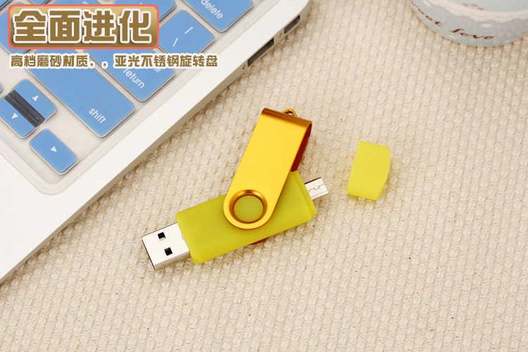 Vara de memória externa 32gb 16gb micro usb pendrive pen drive usb 2.0 otg 64gb pen drive usb de alta velocidade nova 128gb