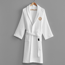 Winter Bathrobe Absorbent-Towels Cotton Women Luxury Waffle Thicken Female Hotel Embroidery