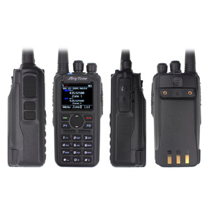 Image 2 - Anytone AT D878UV PLUS digital DMR and Analog walkie talkie with GPS APRS bluetooth PTT Dual band Two way radio with PC Cable