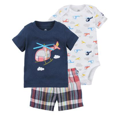 Clearance Sale brand summer baby boy clothing set kids boy clothes sets T shirt + shorts infant boys clothes  Roupas Infantis
