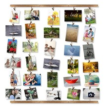 DIY Picture Frame Photo Background Folder Hanging Wall Photos Room Decoration Home Accessories