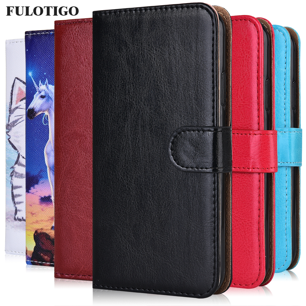 Cute Case For On Huawei P30 Honor 7A 8S Prime 30 Play 9A 4T Pro Plus Cover Plain Wallet Case For Huawei nova 7i 7 SE Pro 5G Case(China)