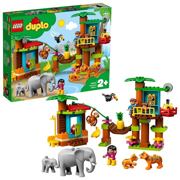 Designer Lego Duplo 10906 Tropical Island