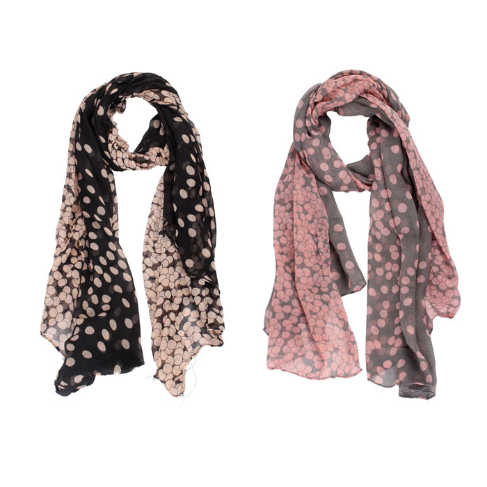 2019 New autumn Winter New Lady Womens Long Polka Dot   Scarf     Wraps   Shawl Stole Soft   Scarves   Large Sunscreen Cheaper   Scarf   #926