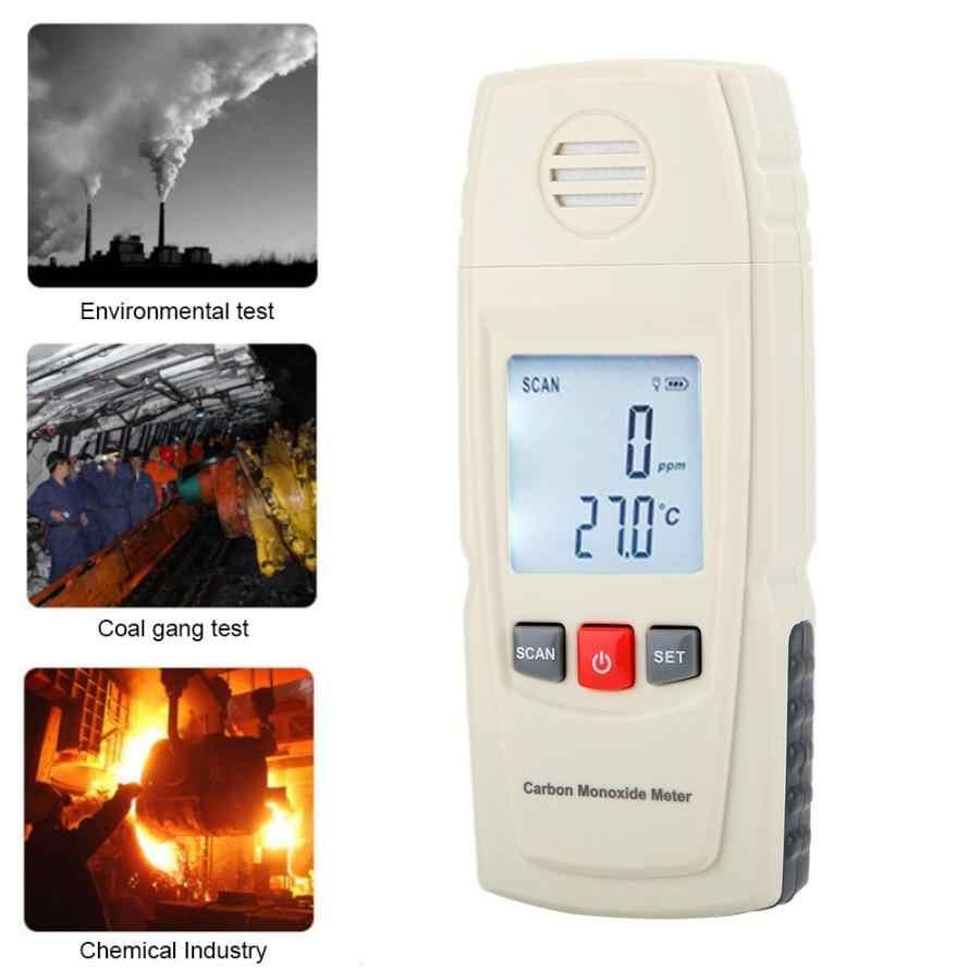 Портативный Ручной Измеритель угарного газа CO, детектор утечки газа, сигнализация угарного газа