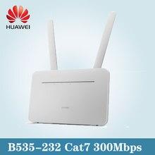 Huawei 4g roteador 3pro B535-232 lte 300mbpds 2.4ghz sma antena sim slot desbloqueado 4g roteador wi-fi sem fio cpe