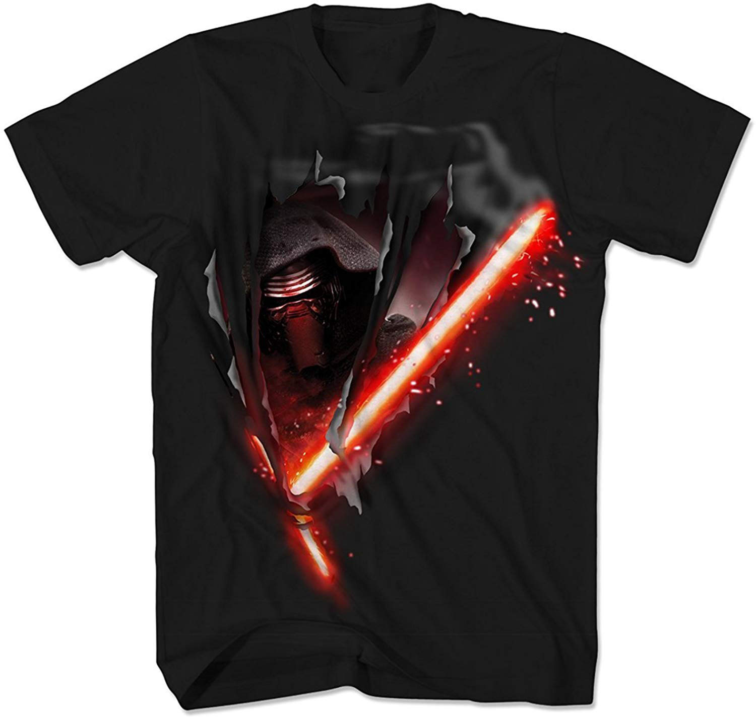 Star Wars Kylo Ren Saber T Shirt Men Women Tops New Unisex Funny TEE Shirt