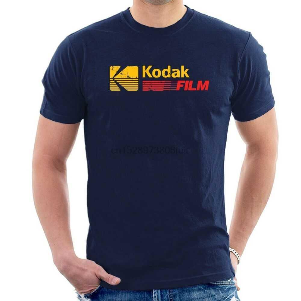 Kodak Film T-shirt Tertekan Gaya Retro Vintage Fotografi Semua Ukuran T36